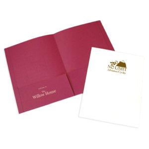 Custom Letter Folders